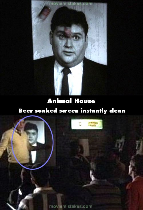 Animal House 1978 Movie Mistake Picture Id 35748