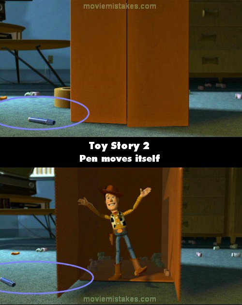 toy story 2 movie mistake picture 6