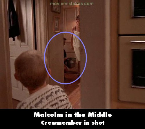 Malcolm in the Middle mistake picture