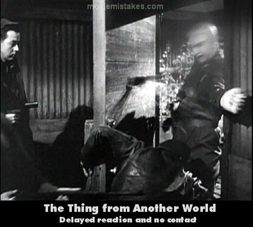 The Thing From Another World mistake picture