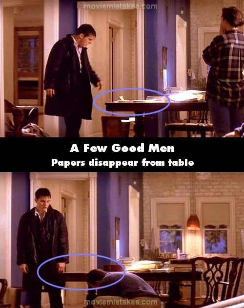 A Few Good Men mistake picture