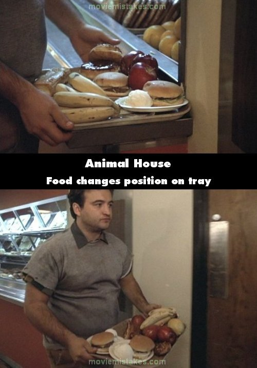 Animal House mistake picture