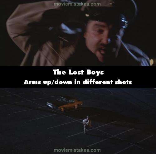 The Lost Boys mistake picture