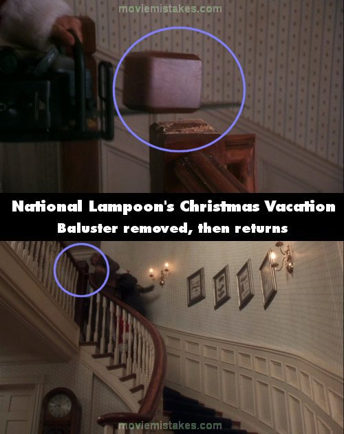 National Lampoonu0027s Christmas Vacation (1989) Movie Mistake Picture (ID  40134)