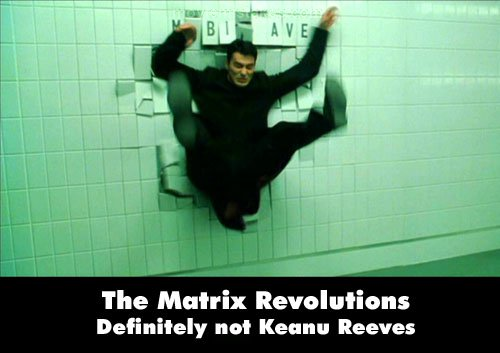 The Matrix Revolutions mistake picture