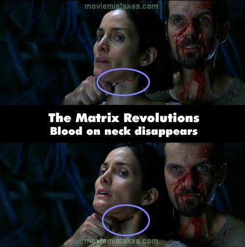 an analysis of the matrix revolutions movie The analysis of the design concepts of the movie the matrix prepared by: efe korkut kurt june, 2008 taşkışla, itu.