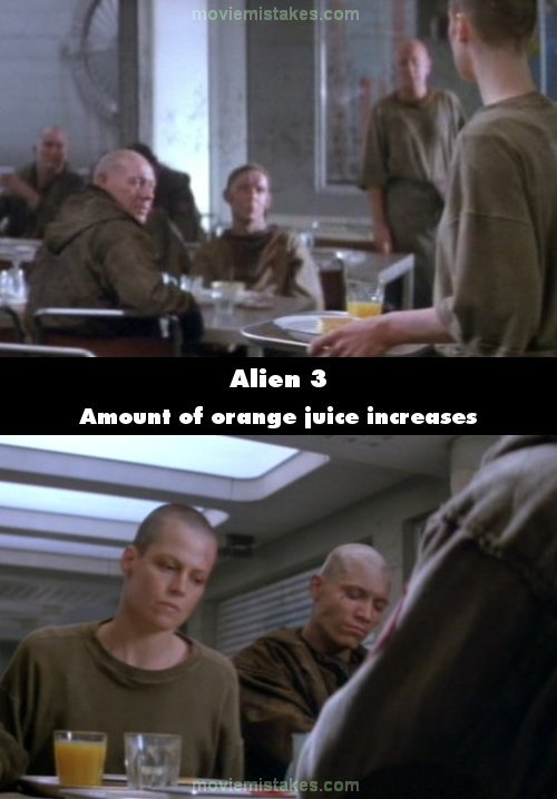 Alien 3 mistake picture