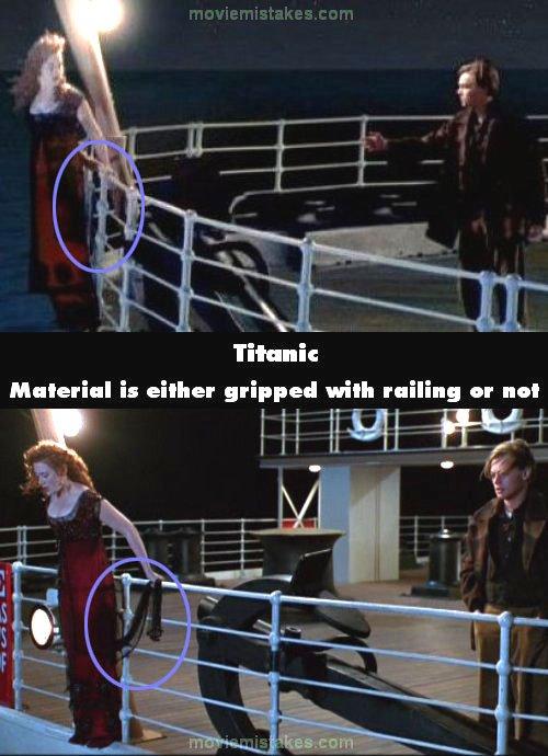 Titanic movie mistake picture 25
