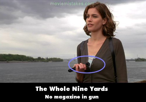 The Whole Nine Yards movie mistake picture 5