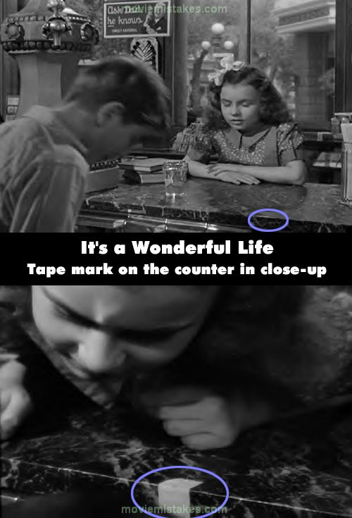 It 39 S A Wonderful Life Movie Mistake Picture 6