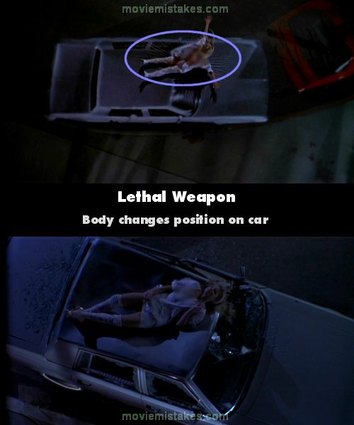 Lethal Weapon mistake picture