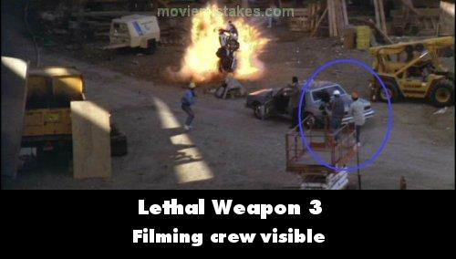 Lethal Weapon 3 mistake picture