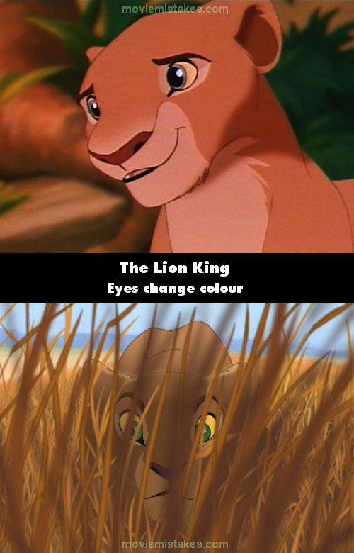 The Lion King mistake picture