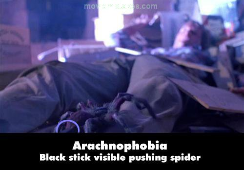 Arachnophobia mistake picture