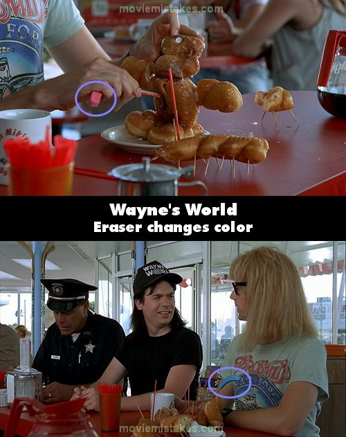 Wayne's World mistake picture
