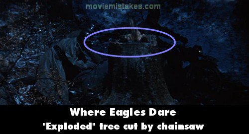 Where Eagles Dare mistake picture