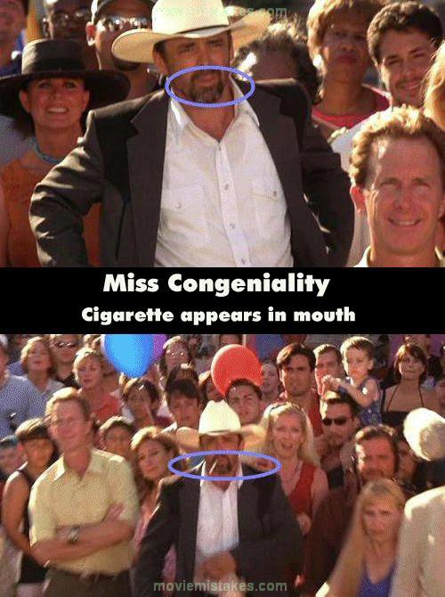 Miss Congeniality (2000) movie mistake picture (ID 48089)