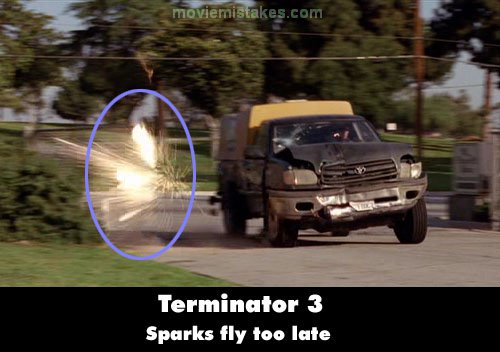 Terminator 3: Rise of the Machines mistake picture