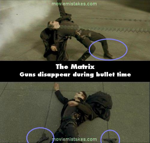 The Matrix mistake picture