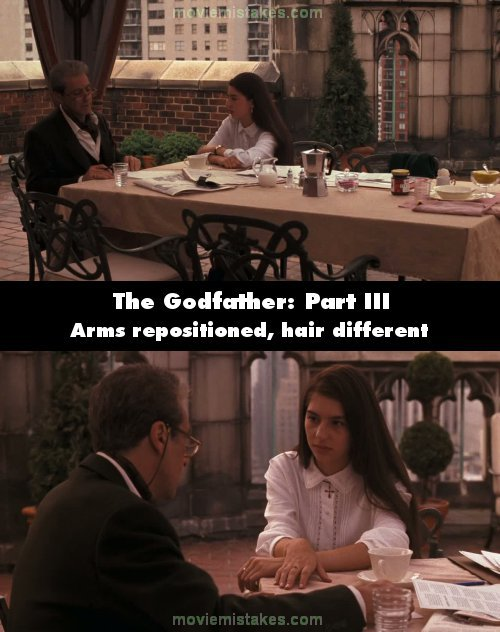 The Godfather: Part III (1990) movie mistake picture (ID 49849)