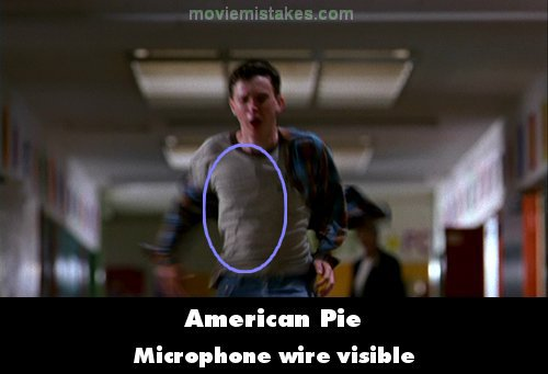 American Pie mistake picture