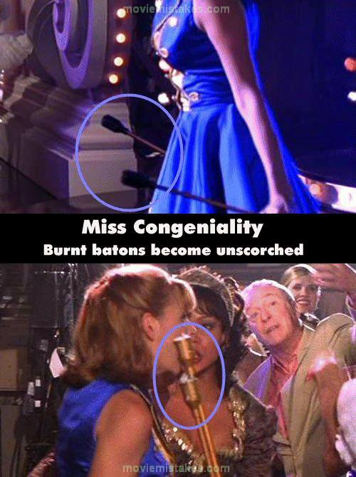Fast And Furious 3 Full Movie >> Miss Congeniality movie mistake picture 6
