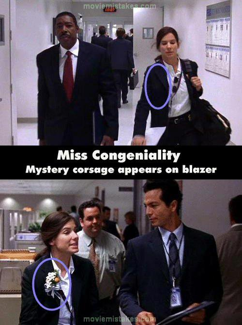Miss Congeniality 2000 Movie Mistake Picture Id 5139