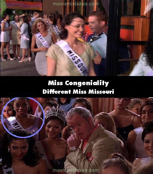 Miss Congeniality 2000 Movie Mistake Picture Id 5151