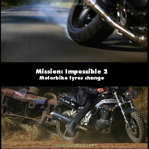 Mission: Impossible 2 mistake picture