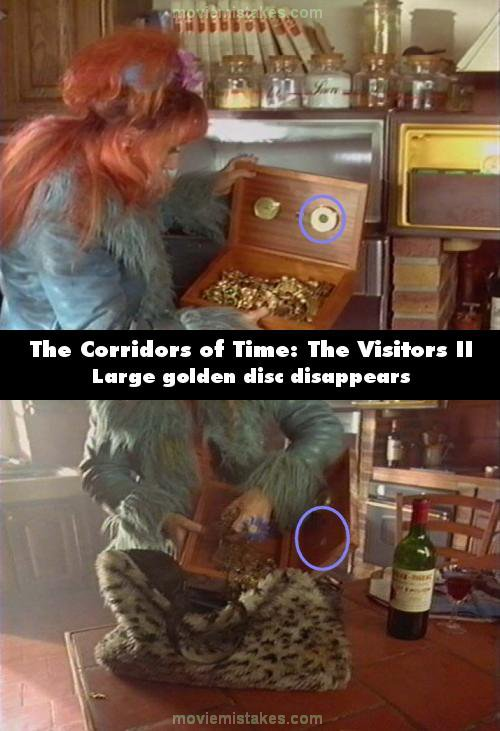 The Corridors of Time: The Visitors II mistake picture