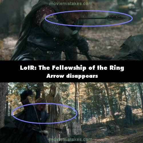 Biggest Movie Mistakes Lord Of The Rings