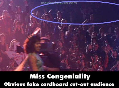 Miss Congeniality mistake picture