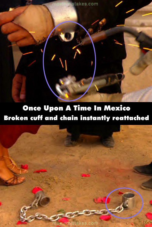 Once Upon a Time in Mexico mistake picture