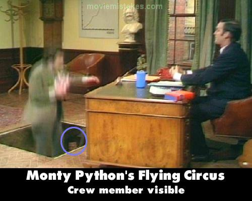 Monty Python's Flying Circus mistake picture