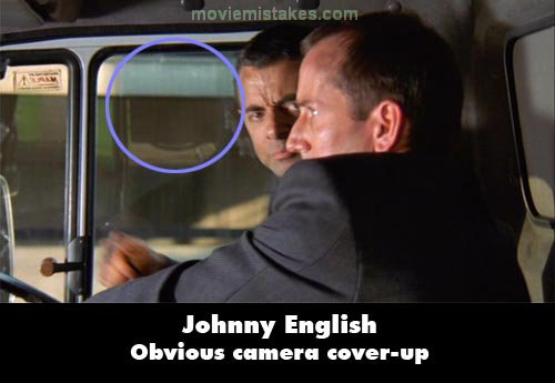 Johnny English mistake picture