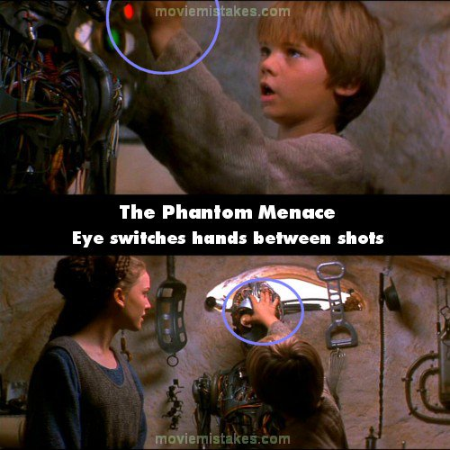 Star Wars: Episode I - The Phantom Menace mistake picture