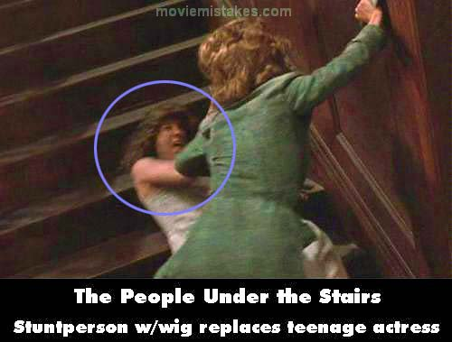 The People Under the Stairs mistake picture