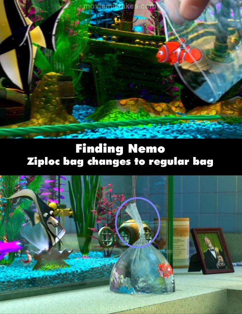 Finding Nemo mistake picture