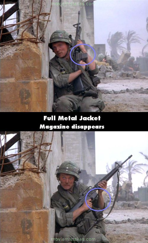 Full Metal Jacket mistake picture