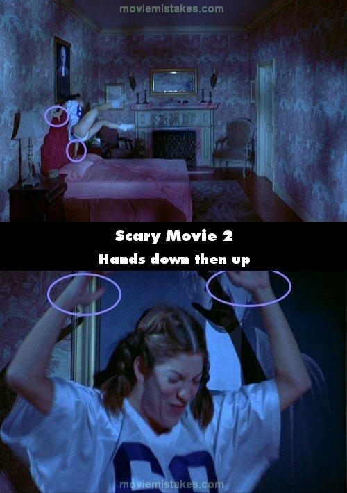 having the scary movie 2 bedroom scene the