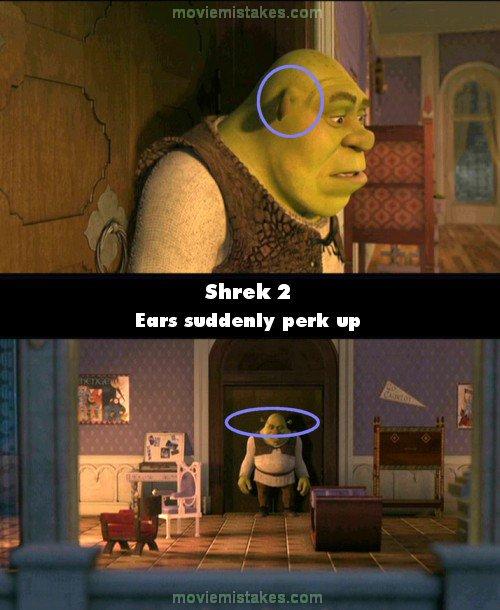 Best Shrek Quotes: Shrek 2 (2004) Movie Mistake Picture (ID 60467