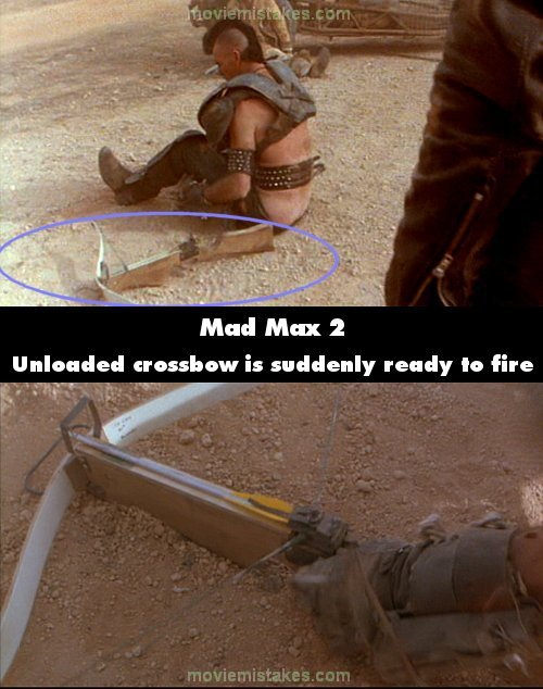 Mad Max 2 mistake picture
