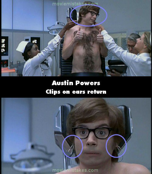 Austin powers international man of mystery 1997 corrections for Austin powers bathroom scene