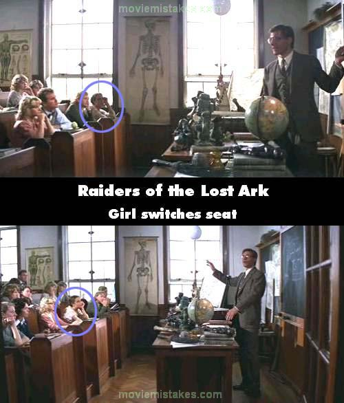 Raiders of the Lost Ark mistake picture