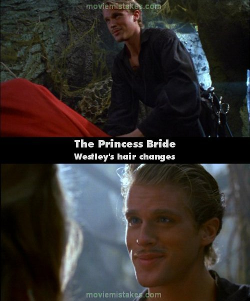 The Princess Bride 1987 Movie Mistake Picture Id 6118