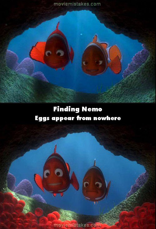 finding nemo 2003 movie mistake picture id 61259