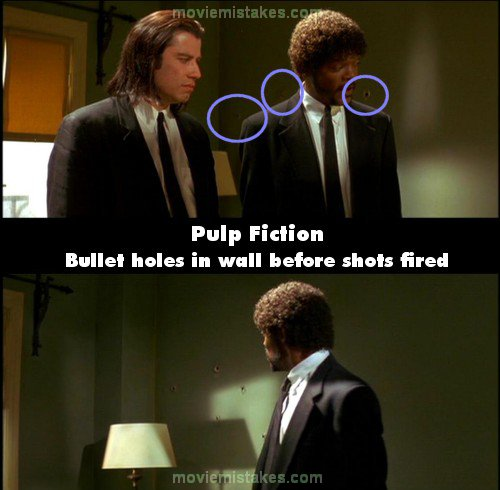Pulp Fiction mistake picture