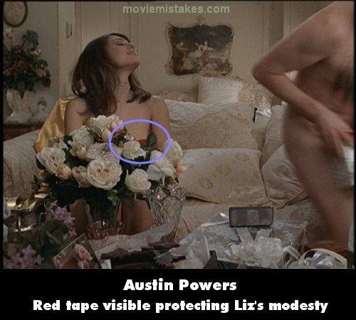 Austin Powers: International Man of Mystery mistake picture