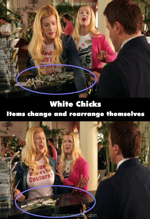 White Chicks (2004) Movie Mistake Picture (ID 62644