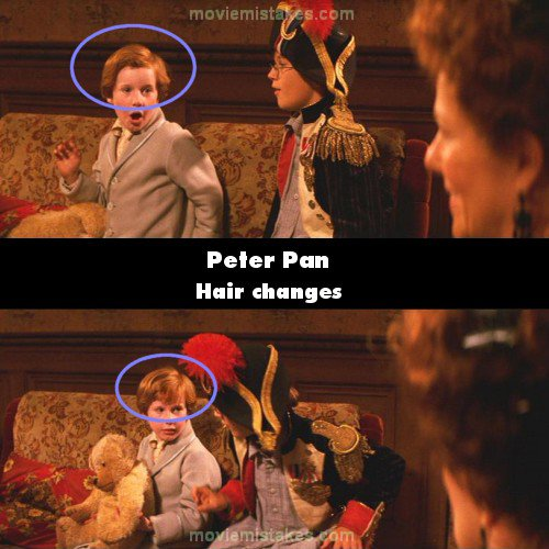 Peter Pan 2003 Movie Mistake Picture Id 62857